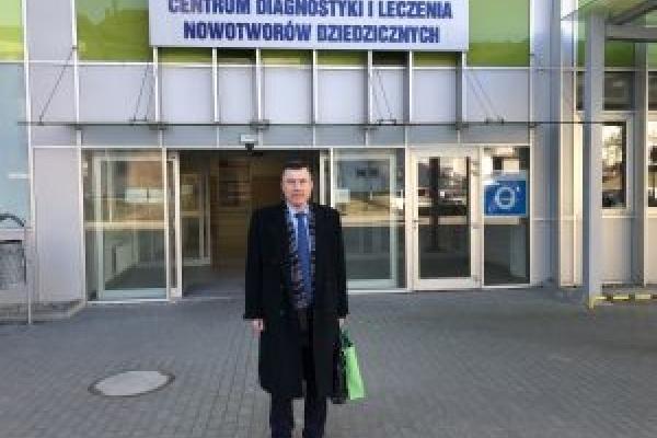 Науковець ТДМУ пройшов стажування у відділі генетики та патології кафедри онкології Поморського медичного університету у Польщі