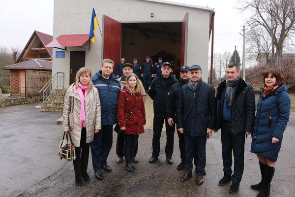 Ще дві громади за підтримки Програми «U-LEAD з Європою» покращать роботу добровільних пожежних команд